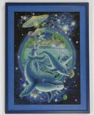 Borduurwerk Dolfijn 2534
