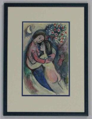 Inlijstwerk Chagall 2510