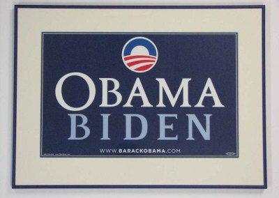 Inlijstwerk Obama 2532
