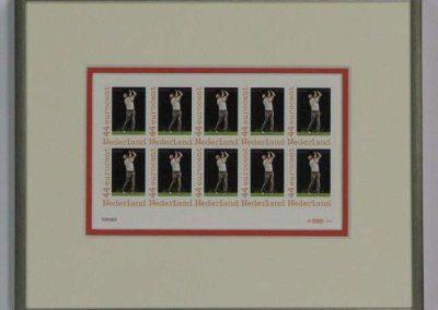 Inlijstwerk Postzegelserie2506