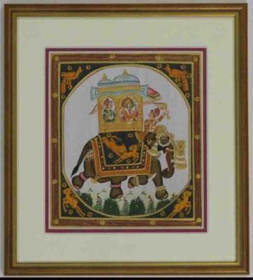 Inlijstwerk Zijdekunst 2530