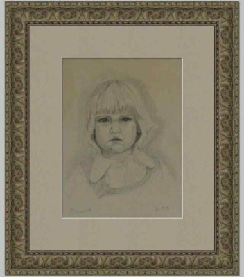 Inlijstwerk portrettek2531
