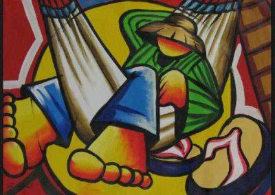 InlijstwerkSchilderij 2529