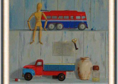 Lijst Schilderij F Bleiji